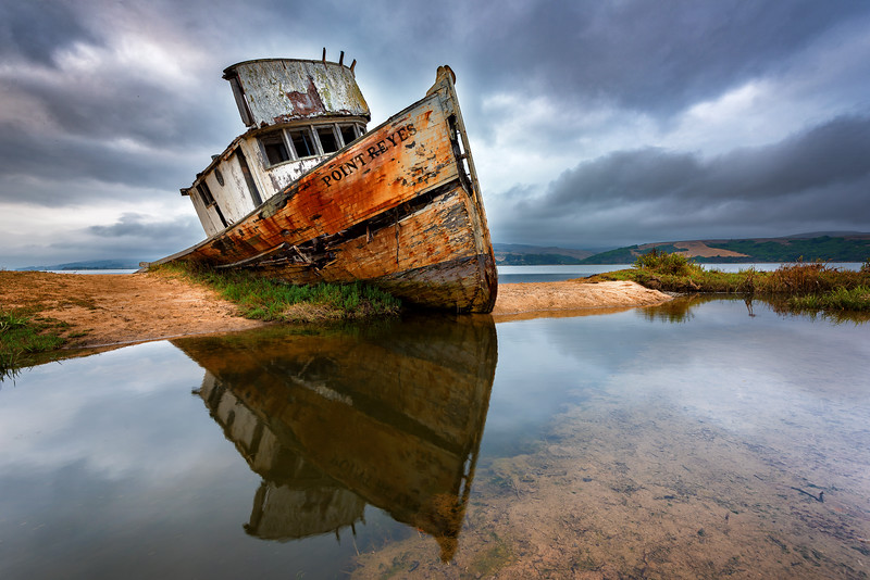 Shipwreck - Point Reyes California 2018