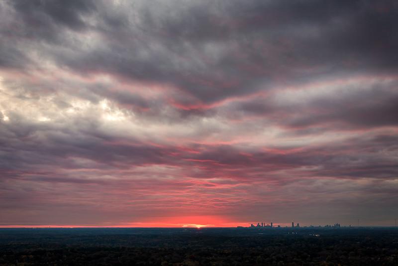 Stone Mountain Sunset - Atlanta GA 2018