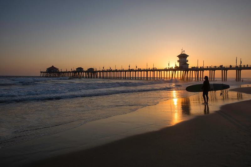 Huntington Beach Pier - California