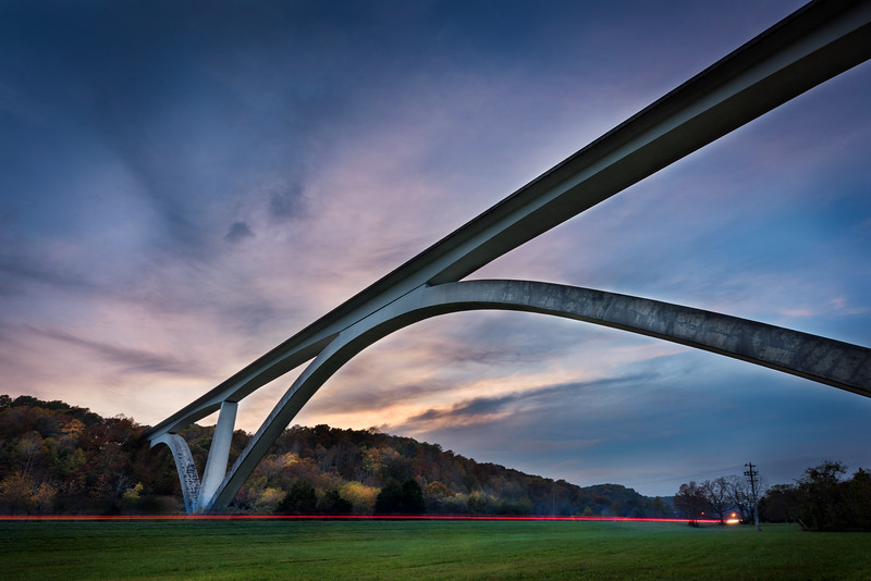 Natchez Trace Bridge - TN 2019