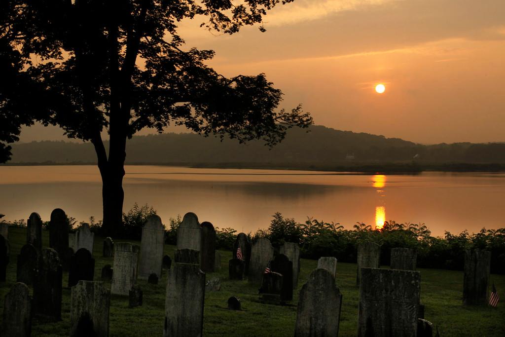 Graveyard Sunrise
