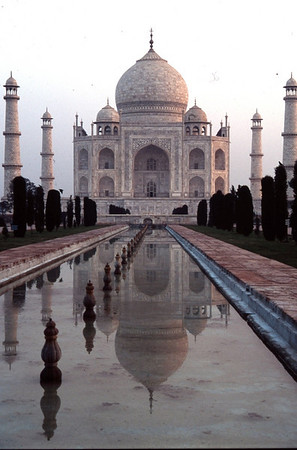 Taj Mahal at Dawn, Agra, India