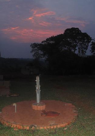 Alego at Sunset