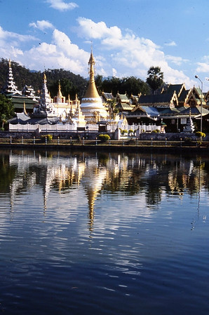 Wat, Mae Hong Son, Thailand