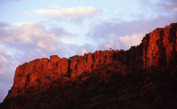 Red Cliffs at Dawn, Waterberg,Namibia