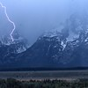 Lightning, Grand Teton NP, Wyoming