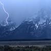 Lightning, Grand Teton NP, Wyoming