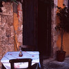 Cafe, Hania, Crete, Greece