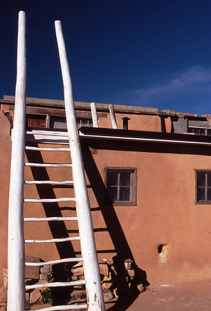 Ladder at new Mexico Pueblo