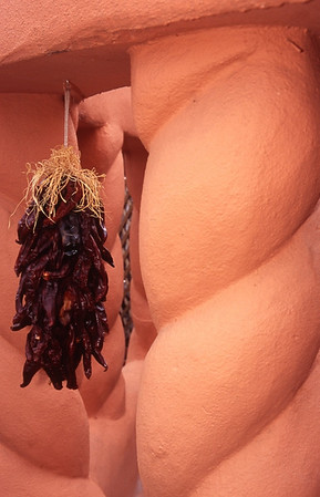 Drying Peppers, Albuquerque, New Mexico
