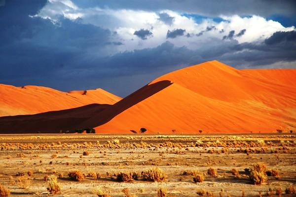 Namib Dunes in Morning Light, Sossuslevei