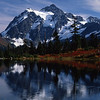 Mt. Shuksan, in the North Cascades of Washington was taken in early October.