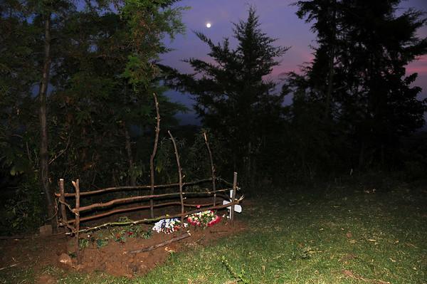 Susan's Grave at Moonlight