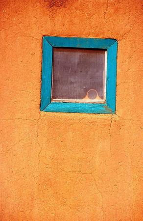 Blue Window, Pueblo, New Mexico