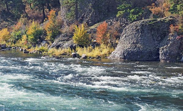 Spokane River in Early Fall