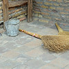 Brooms and Pail