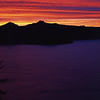 Crater Lake Sunset, Oregon