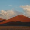Namib Dunes and Rainbow, Sossusvlei, Namibia