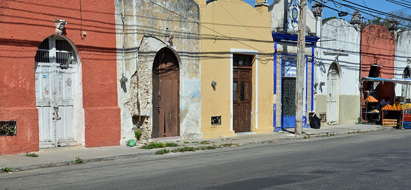 Colorful Street in Merida