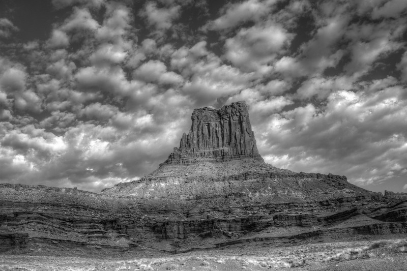 Clouds at Airport Tower on Canyonlands National Park