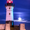 Moonlight on Canal Park Lighthouse
