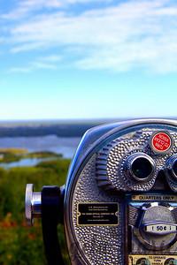 Overlooking Saint Louis Bay in Duluth.