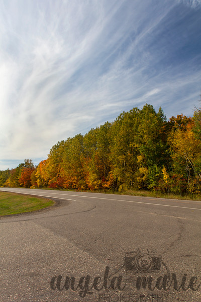 Fall colors in the Mill Lacs area in Minnesota