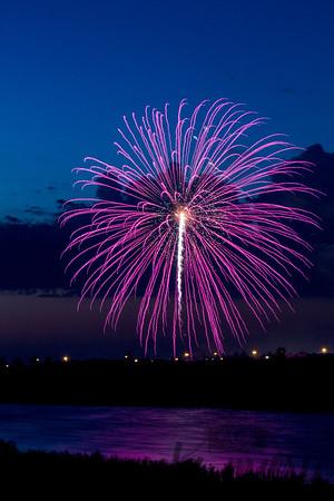 Fireworks over West Fargo, North Dakota #6