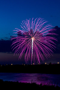 Fireworks over West Fargo, North Dakota #6