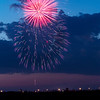 Fireworks over West Fargo, North Dakota #4