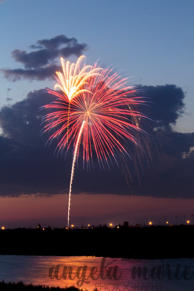 Fireworks over West Fargo, North Dakota #2