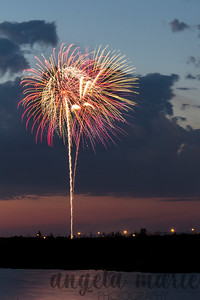 Fireworks over West Fargo, North Dakota #1