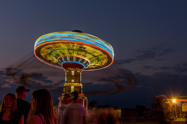 Swing Ride at the Red River Valley Fair, West Fargo, North Dakota