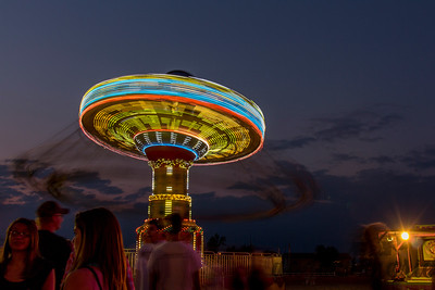 Swing Ride at the Red River Valley Fair, West Fargo, North Dakota