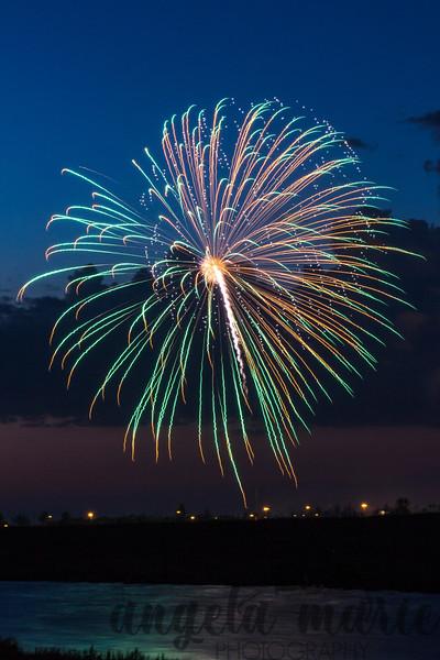 Fireworks over West Fargo, North Dakota #5
