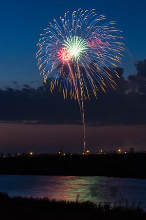 Fireworks over West Fargo, North Dakota #8