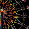 Rainbow Ferris Wheel at Rest