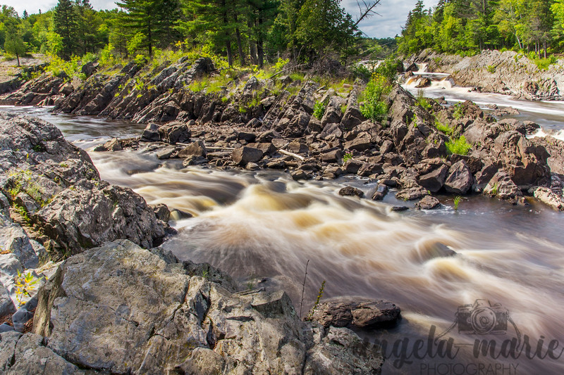 Rapids on the St. Louis River in Jay Cooke State Park