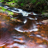 A Creek in the Porcupine Mountain area in Michigan