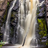 Part of Little Manitou Falls at Pattison State Park in Wisconsin