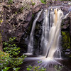 One Side of Little Manitou Falls at Pattison State Park in Wisconsin
