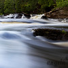 Falls on the Presque Isle River, Michigan