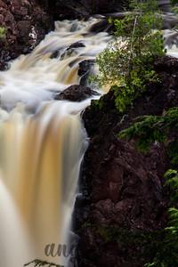 Copper Falls in Copper Falls State Park, Wisconsin