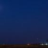 Lunar Eclipse Over West Fargo on Oct 8th 2014