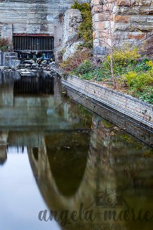 Stone Arch Bridge Reflection