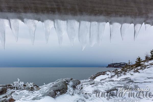 Tettagouche Ice Teeth