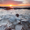 Sunrise Over Lake Superior - Lighthouse Point - Two Harbors, MN