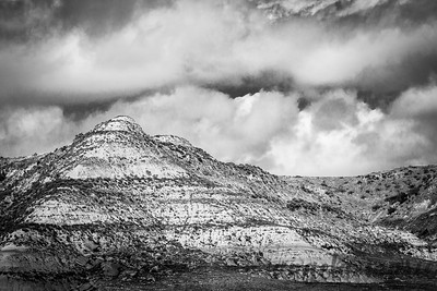 Black and White Badlands - Theodore Roosevelt National Park