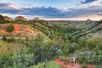 Scoria Overlook - Theodore Roosevelt National Park