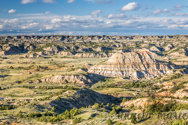 Painted Canyon - Theodore Roosevelt National Park